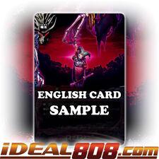 Ladyzie Glossy X-BT03//0039 R Buddyfight x 4 Black Crest Dragon English Mint