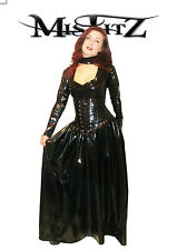 Misfitz pvc corset style gothic countess ballgown, sizes 8-32 or made to measure