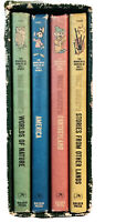 Vintage Wonderful Worlds of Walt Disney Box Set 4 Volume 1965 Golden Press