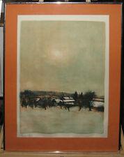 Bernard Gantner Outstanding 1960s Signed Lithograph