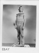 Scott Brady barechested VINTAGE Photo Vanishing American
