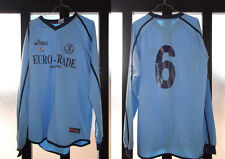 maglia shirt originale pizzighettone asics nr 6 taglia XL match worn