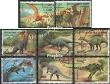 Benin 1040-1048 (complete issue) used 1998 Prehistoric Animals