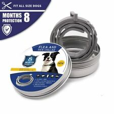 Adjustable Anti Flea and Tick Neck Collar For Dog Pet 8 Months Protection