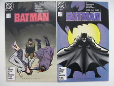 *BATMAN #404-407 Year One Frank Miller