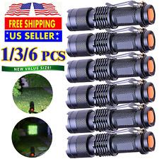 Flashlight LED Tactical Military Grade Torch Small Flashlight Bright Light LED