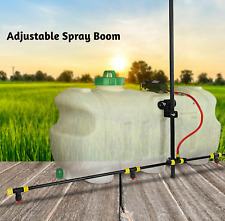 Giantz 1.5M ATV Adjustable Weed Boom For Sprayer wth 70 100L Tank 4 Spray Nozzle
