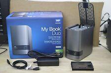 WD My Book Duo Desktop RAID External Hard Drive Enclosure USB 3.0 up to 16TB