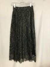 Hauber Nightlife Collection Black Lace Skirt, vintage 80's, Xs