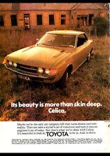 "1974 TOYOTA CELICA LT HARDTOP A2 CANVAS PRINT POSTER FRAMED 23.4""x16.5"""