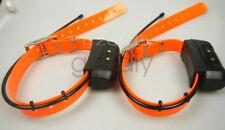 EUR ver 2*Garmin DC40 GPS dog Tracking Collar for Astro220/320  new orange strap