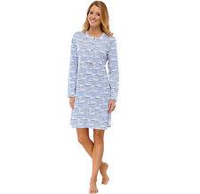 SCHIESSER Damen Nachthemd 95 cm Sleepshirt Langarm  38 40 42 44 46 48 50 NEU