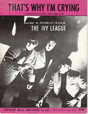 Ecco perché sto gridando -' Ivy League - 1965 Spartiti