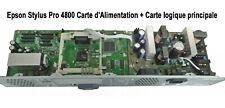 Epson Stylus Pro 4800 Carte d'Alimentation + Carte logique principale