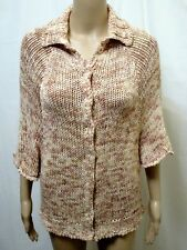 SCANLAN THEODORE JUMPER SWEATER ~ MEDIUM LARGE ~ GREAT COND CHUNKY KNIT KNITTED