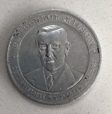 More details for us president woodrow wilson calendar coin medal 1912 rare