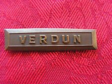 agrafe verdun ( model ancien)