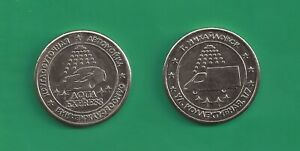 Russian Car Wash self Token from Town Mikhailovsk - Aqua Express 1 pcs.