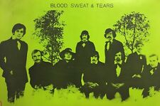 Blood Swear & Tears Vintage Blacklight Poster Pin-up Psychedelic 1970's Promo Ad
