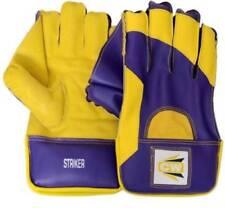 Wicket Keeping Gloves Cricket World Striker Top Grade Full Grain Palm Purple
