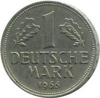 1 DM 1966 D MUNCHEN Germany #DE10405.5DW