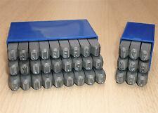 Schlagzahlen Schlagbuchstaben Satz 1-15mm Stern hergestellt in Deutschland