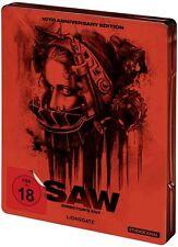 Saw Uncut Blu-ray Steelbook Directors Cut 10th Anniversary Edition Neu *- FSK 18