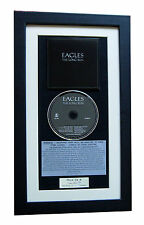 EAGLES The Long Run CLASSIC CD Album GALLERY QUALITY FRAMED+EXPRESS GLOBAL SHIP