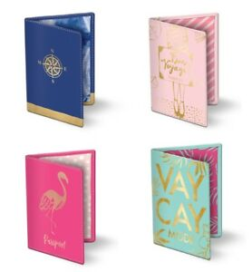 Punch Studio Lady Jayne E8 Travel Faux Leather Passport Covers - Choose Design