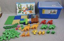 Lego Duplo 9213 Education Set Dinosaurs 2007 Dinosaur Complete Brontosaurus Trex