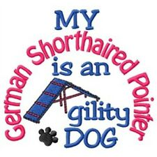 My German Shorthaired Pointer is An Agility Dog Long-Sleeved T-Shirt Dc1898L