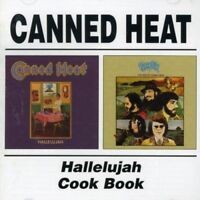 CANNED HEAT - HALLELUJAH/COOK BOOK  CD NEUF