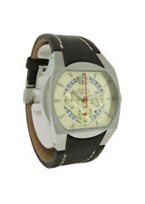 Breil Milano BW0105 Men's Analog Champagne Chronograph Date Brown Leather Watch