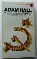 Adam Hall - The Warsaw Document - NEL Books 1972 - Vintage P/B