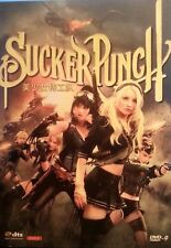 SUCKER PUNCH DVD 2011 REGION 1 PG WITH A COLLECTORS SLIPCASE