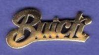 BUICK SCRIPT GOLD HAT PIN LAPEL PIN TIE TAC BADGE #0613