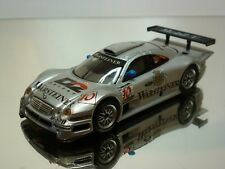 MAISTO MERCEDES BENZ CLK GTR WARSTEINER #10 - SILVER 1:43 - VERY GOOD - 20