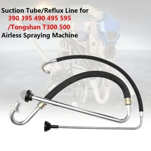 Stainless Steel Suction Tube for 390 395 490 695 Airless Spraying Machine Parts