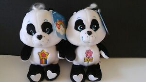 HTF NEW w/TAGS POLITE and PERFECT Panda Cousin Care Bear Bears Beanie 8""