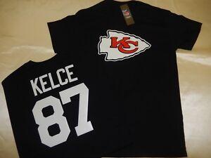 "0204 Boys Kansas City Chiefs TRAVIS KELCE ""Eligible Receiver"" Jersey Shirt BLACK"