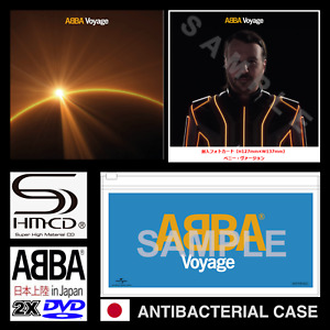 JAPAN ONLY CASE + VOYAGE SHM-CD+ ABBA IN JAPAN DOUBLE DVD+POSTER+PHOTOCARD! 2021