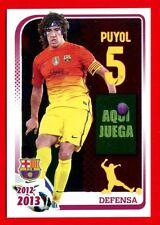 FC BARCELONA 2012-2013 Panini - Figurina-Sticker n. 57 - PUYOL -New