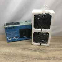 "Sony XS-1010 10cm (4"")/ Dual Come 50 Watt Speakers Vintage In Original Box"
