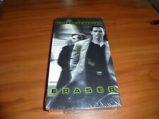 Eraser (VHS, 1996) Arnold Schwarzenegger NEW