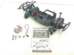 NEW: Arrma SENTON 4x4 3s BLX V3 Short Course Truck Roller Slider Chassis!
