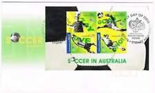 Australia 2006 FDC blok 61 - Soccer in Australia