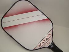 NEW  KOVALOVA SIGNATURE ELITE PRO PICKLEBALL PADDLE ENGAGE RED