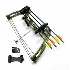 New listing Outdoor Aluminum Camo Strength 20Lbs Right Hand Compound Bow for Archery