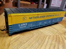 Y5 Ho Scale Train Netherlands Overseas Mills Lunx 70254 Horn Hook Blue Yellow