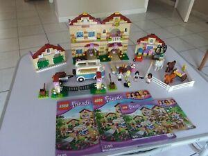 Lego Friends 3185 Le Camp d'Equitation en très bon état